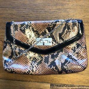 Handbags - Snake skin look handbag